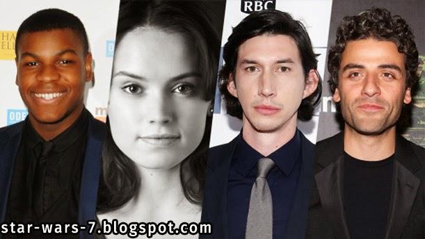 Star Wars Episode 7 actors and cast