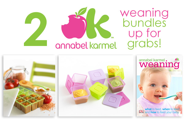 annabel karmel weaning bundle giveaway