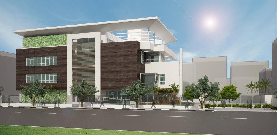 Suficiente tudo para minha casa: Arquitetura sustentável em Edifício comercial LL78