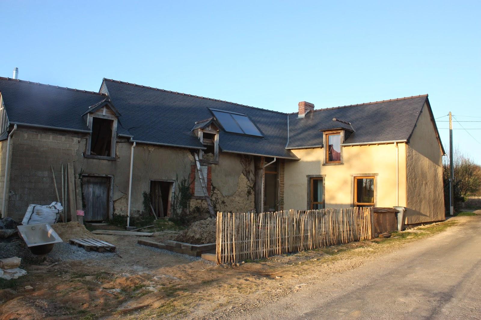 R novation maison en terre bauge for Association renovation maison