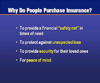 Why People Purchase Insurance?