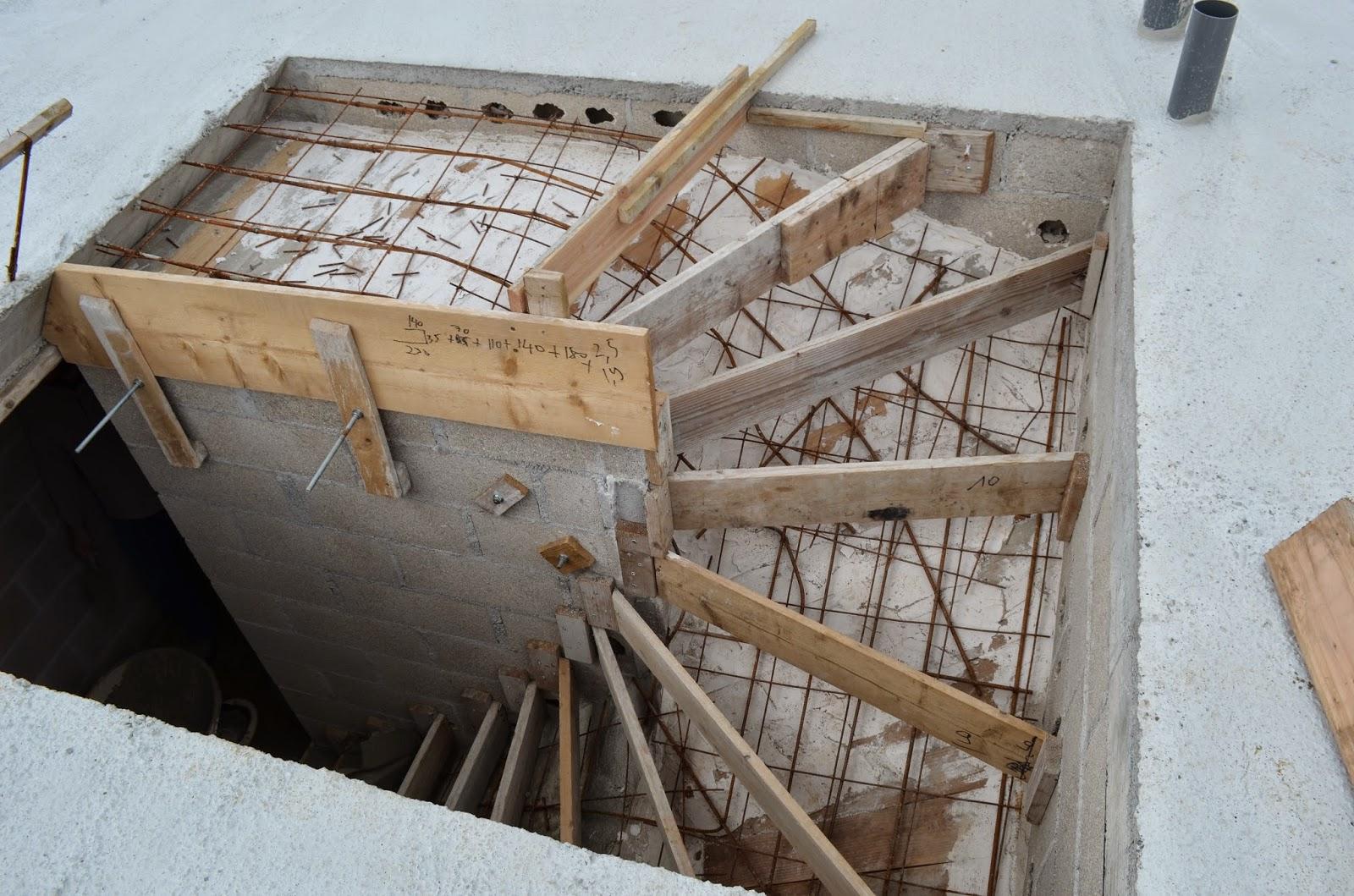 Escalier Coule En Place