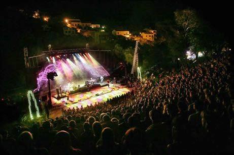Scène du Festival de Musique d'Erbalunga
