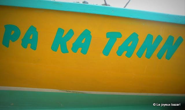 Guadeloupe - barque