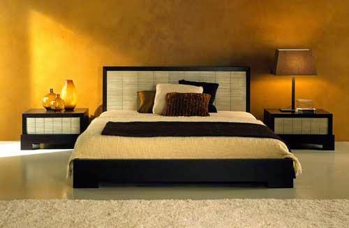 desain kamar tidur minimalis elegan warna coklat