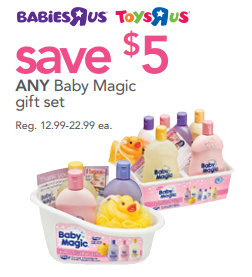 R Us Stores: Baby Magic Gift Sets only .53 After Rebate (Reg ...