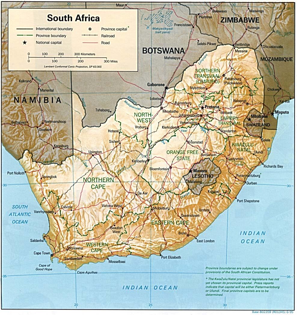 Profil Singkat Negara Afrika Selatan