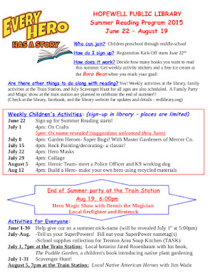 HPL 2015 Summer Reading Program