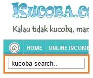 Membuat Kotak Search Elegant Di Blog Cara kucoba.com
