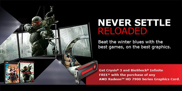"AMD "" gives you four cool games for free"" on the Radeon"