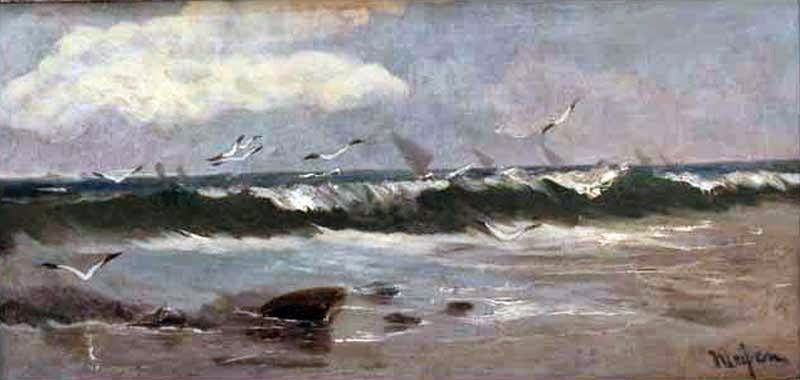En el vano de la ola