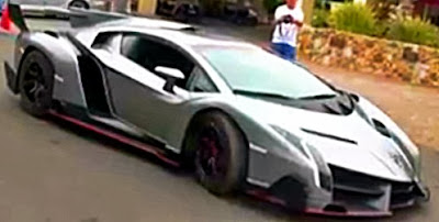 Most expensive car in the world - Veneno Roadster