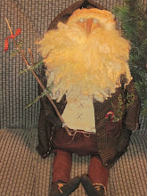 "26"" FarmHouse Woodland Santa"