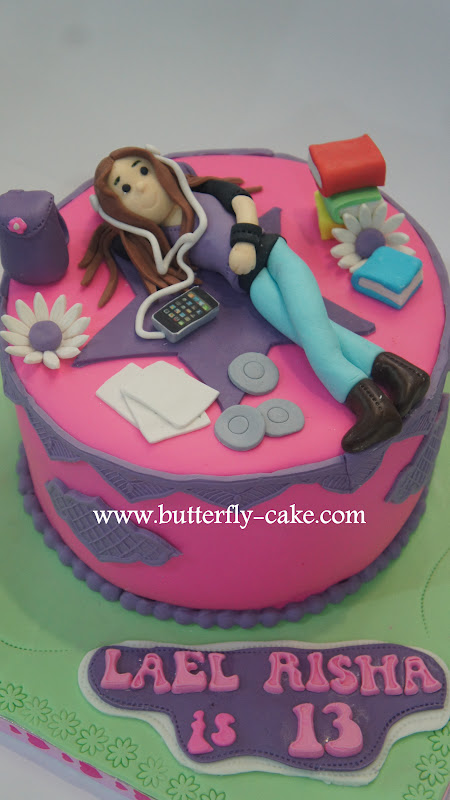 Butterfly Cake Teenager Cake