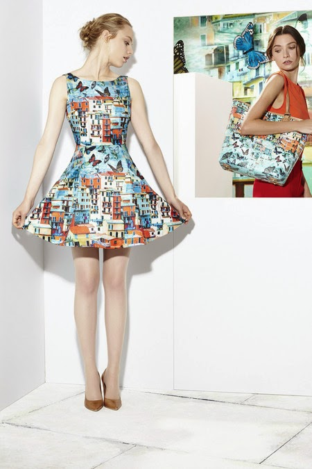 Alice+Olivia butterfly dress