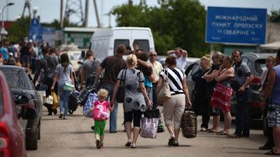ООН зафиксировала более 900 тысяч .беженцев из Украины