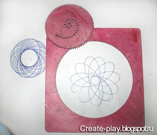 Spirograph: the curves of the new form