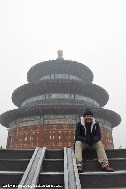 FINALLY AT THE UNESCO WORLD HERITAGE SITE TEMPLE OF HEAVEN