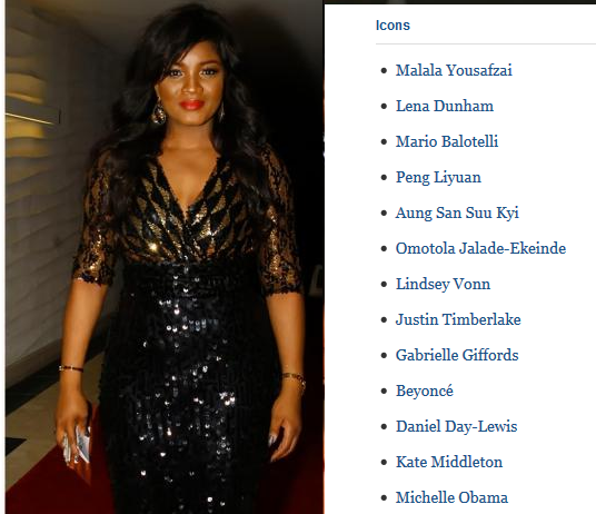 omotola jalade world's most influential people