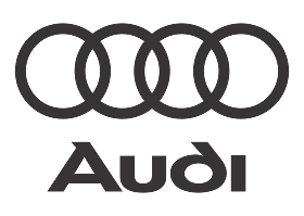 download Logo Audi (Black White) Vector