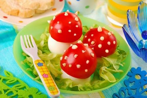 ide makanan lucu untuk anak susah makan ~ telur mirip jamur