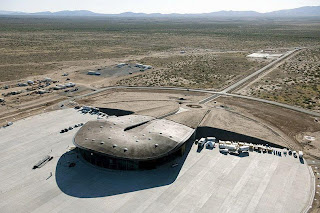 SPACEPORT AMERICA IN NEW MEXICO
