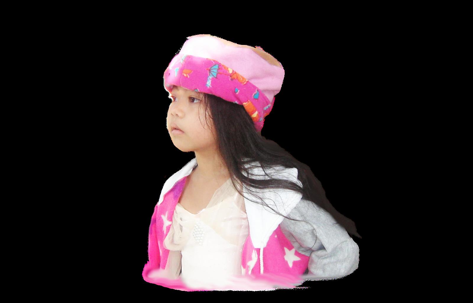 หมวกกันหนาว สีชมพู