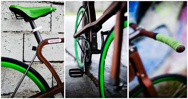 Зеленый дизайн велосипеда, в прямом и переносном смысле
