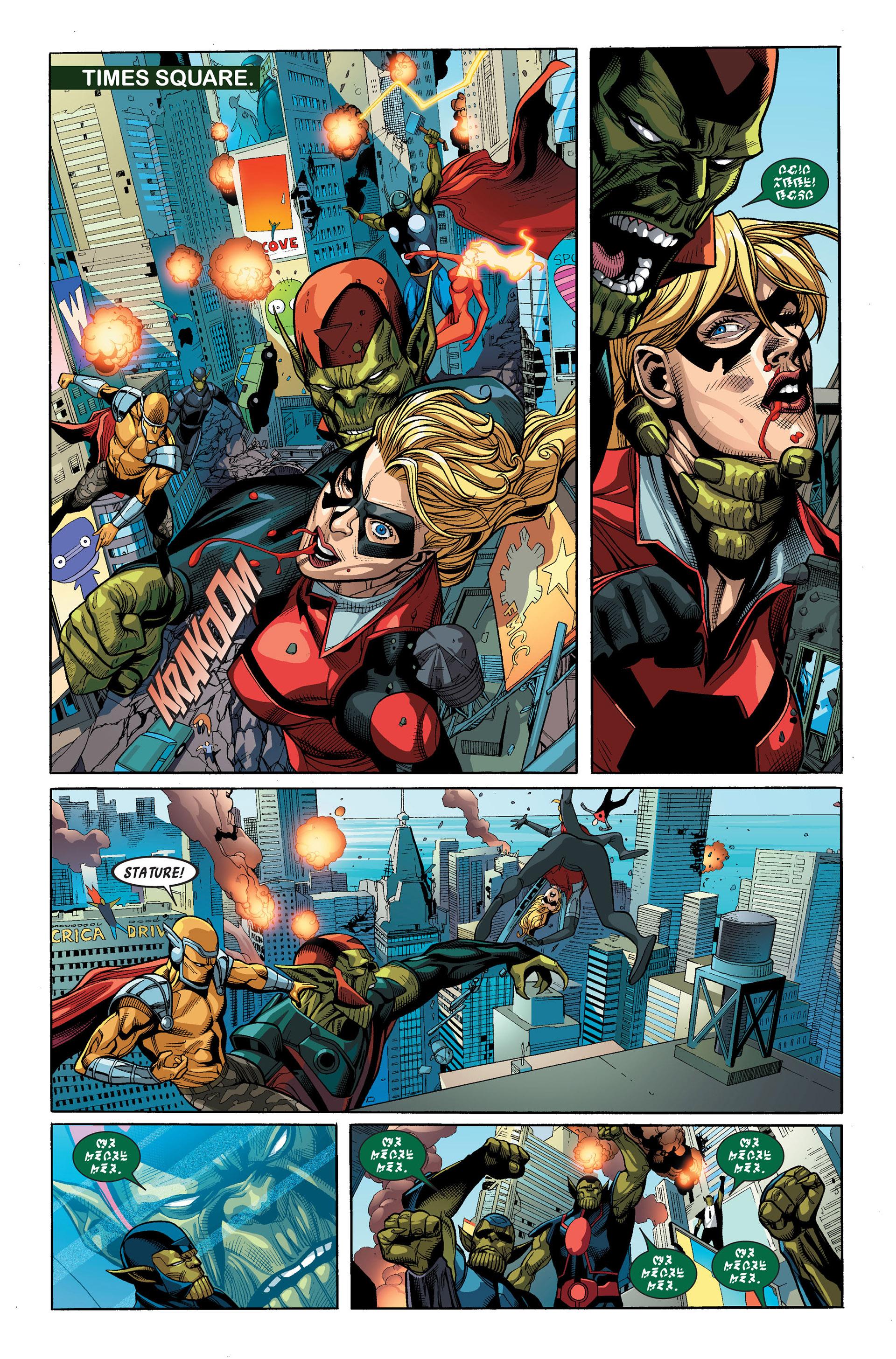Read online Secret Invasion comic -  Issue #3 - 16