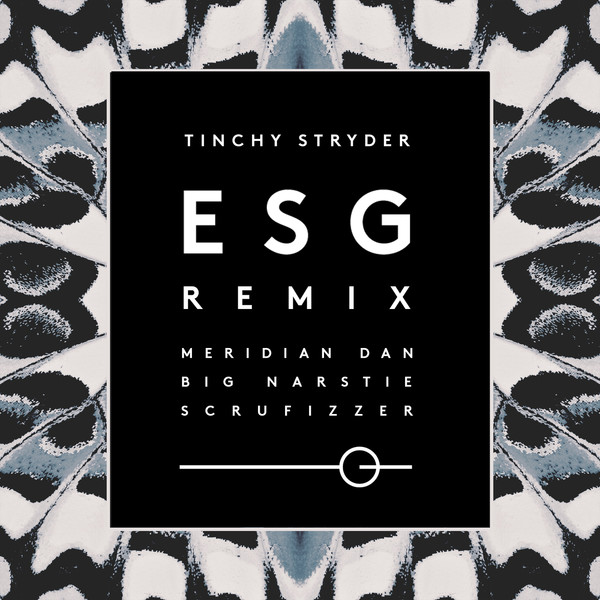 Meridian Dan & Tinchy Stryder - ESG (Remix) [feat. Scrufizzer & Big Narstie] - Single Cover
