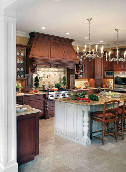Large Beautiful Kitchens