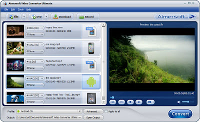 konversi MOD ke AVI, MP4, WMV, MPEG, VOB, MOV