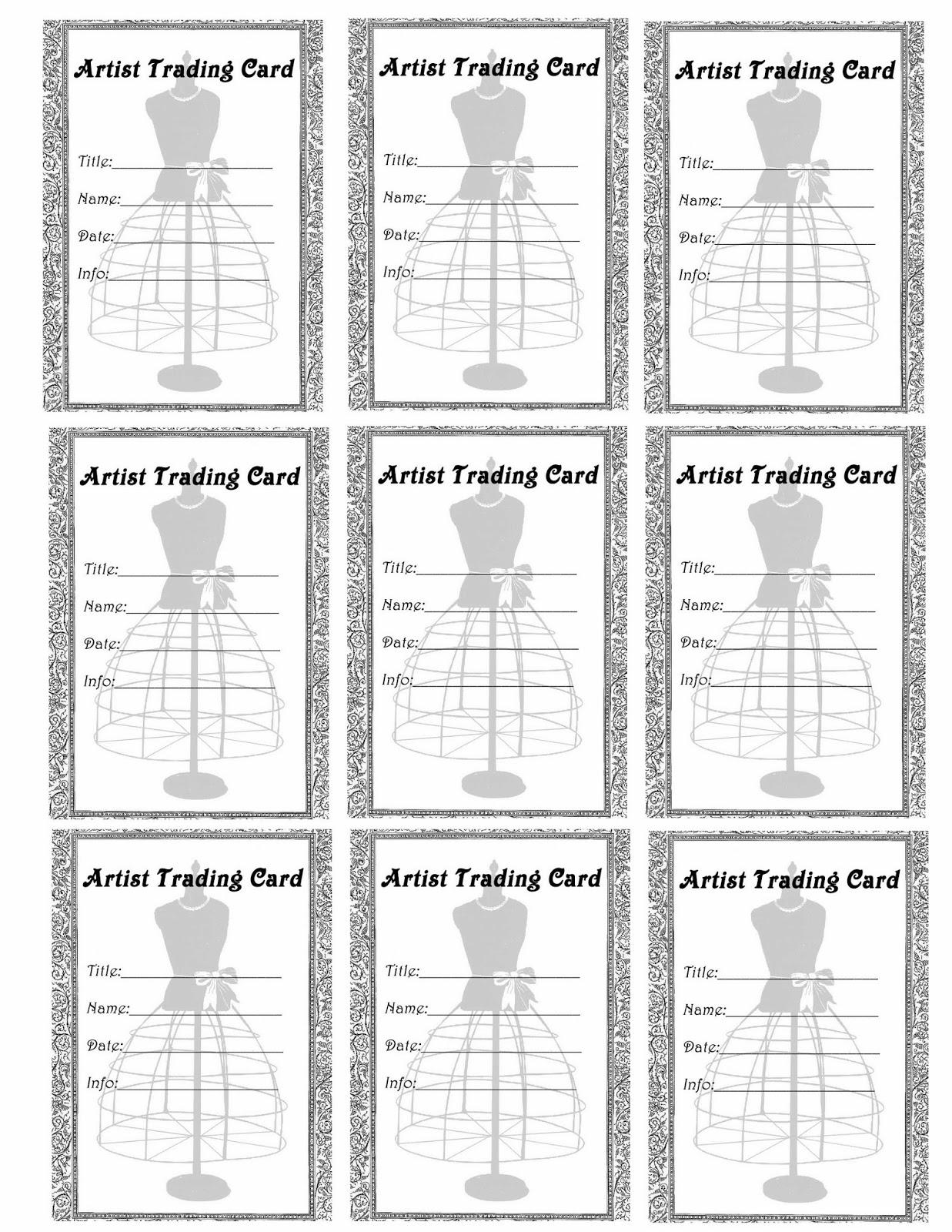 FREE ViNTaGE DiGiTaL STaMPS**: Free Printable - Artist Trading Card ...