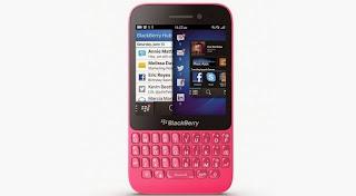 BlackBerry Q5 Warna Pink Sekarang Tersedia di Dubai