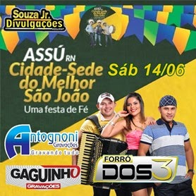 BAIXE FORRÓ DOS 3 NO SJA 2014