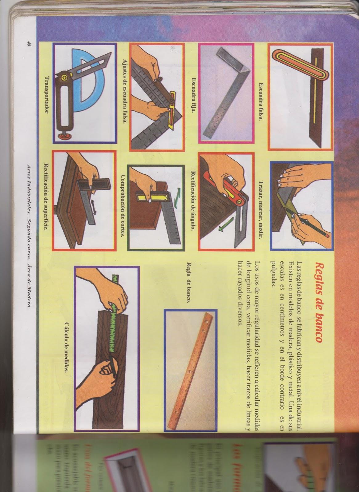 Herramientas de carpinteria segundo basico - Herramientas de carpinteria nombres ...