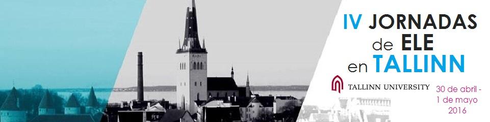 IV Jornadas de ELE en Tallinn   Universidad de Tallinn