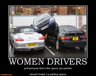 Women Drivers | Funny Pictures, Quotes, Memes, Jokes