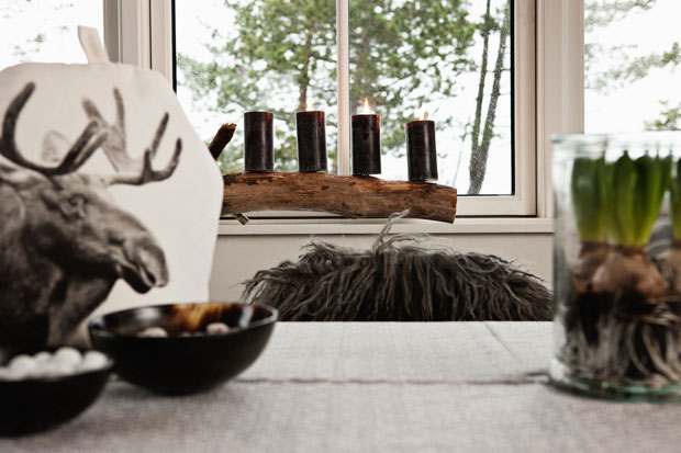 Scandinavian christmas home decorating interiors and for Home decorations for less