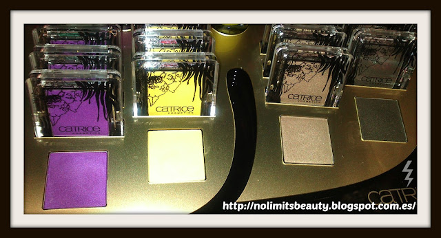 Glamazona de Catrice - Sombras de ojos Absolute Colours