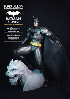 "Play Imaginative SDCC 2013 Exclusive 12"" Super Alloy Batman Figure"