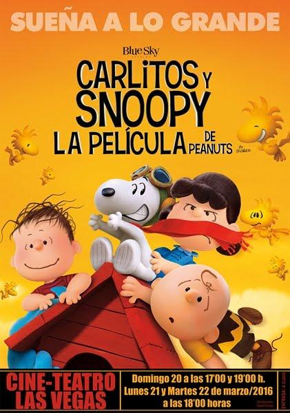 Cine: Carlitos y Snoopy
