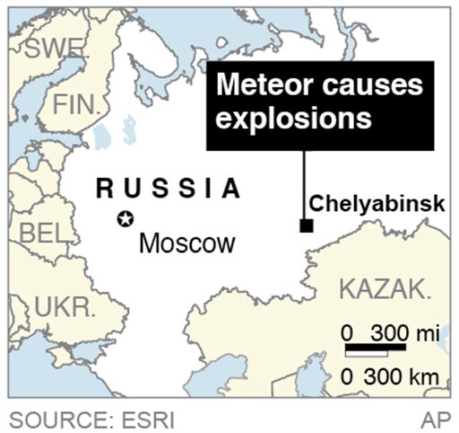 Pauhnews asteroid in russia 2013