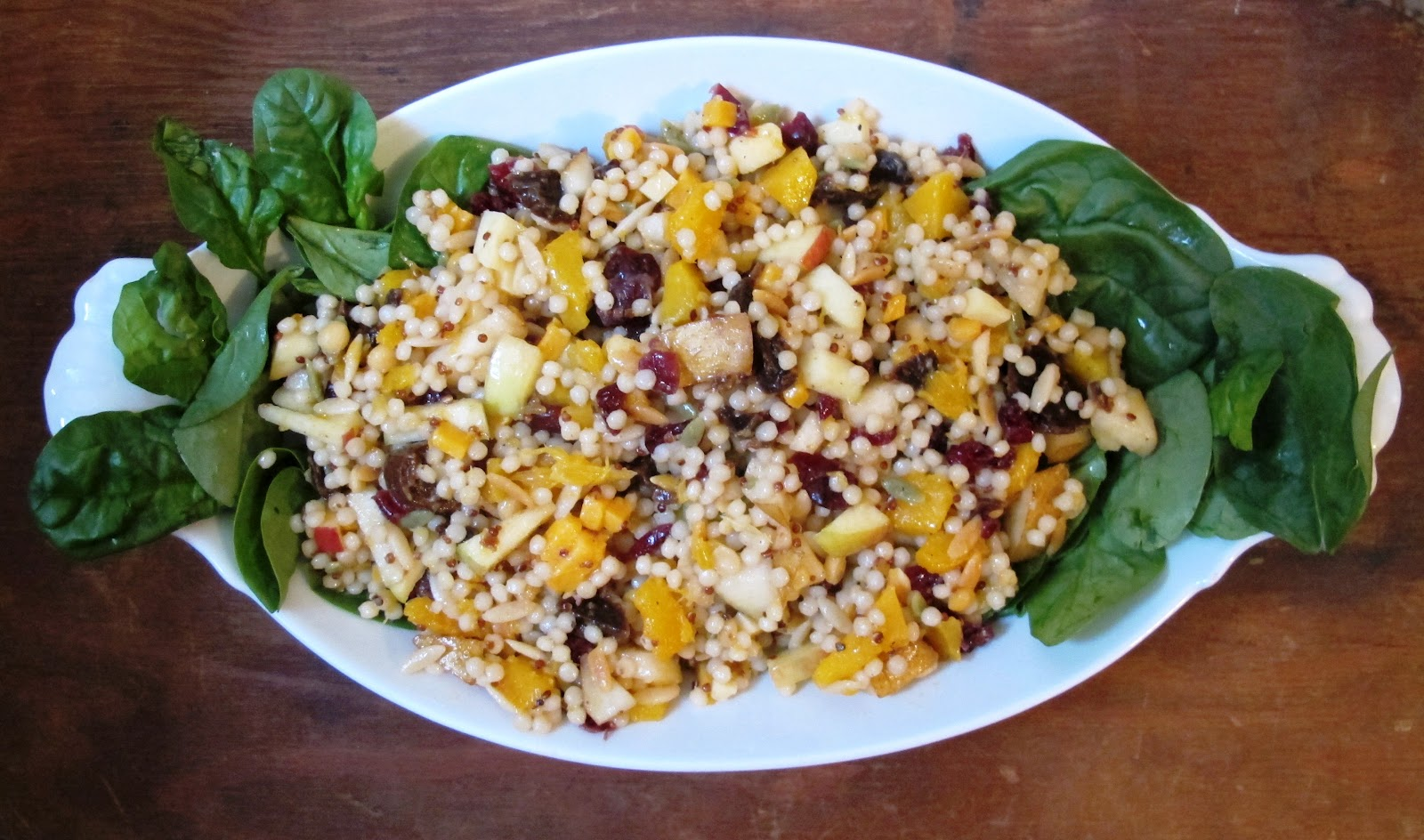 ... Squash -- Israeli Couscous-Butternut Squash Salad with Fall Fruit