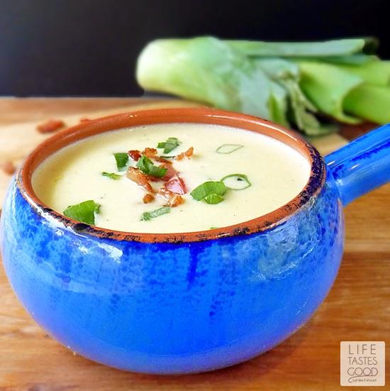 Life Tastes Good: Potato Leek and Bacon Soup