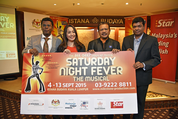 Saturday Night Fever - The Musical Press Launch