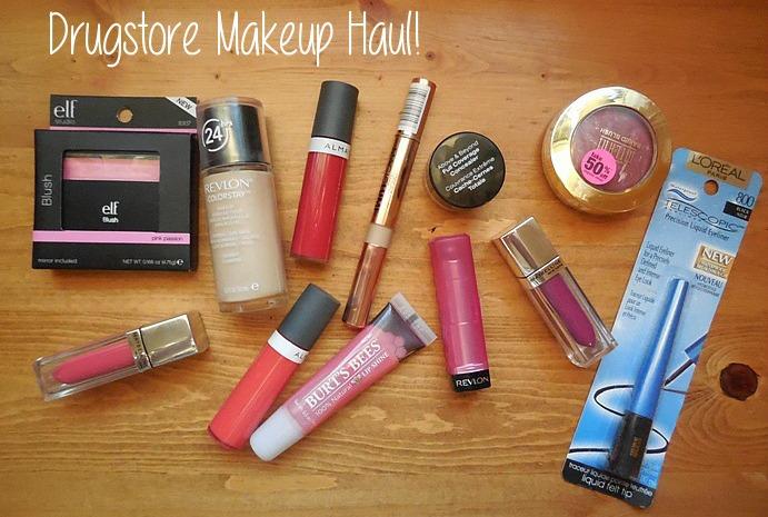 drugstore makeup, drugstore haul