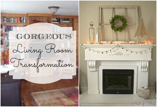 Budget Living Room / Dining Room Makeover Reveal! - Nest of Bliss