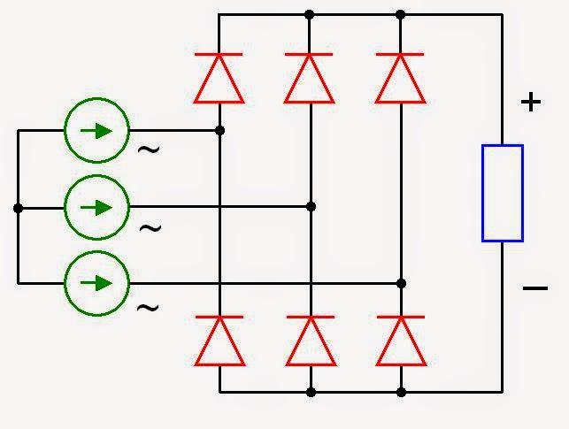 wiring diagram 6 pin rectifier – comvt, Wiring diagram