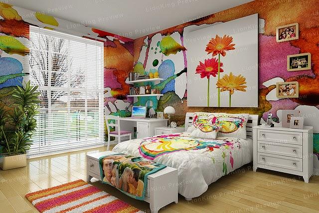 furniture kamar tidur anak remaja